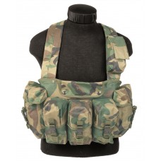 Chest Rig Woodland Miltec