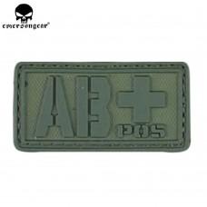 PVC 3D Emerson 'AB+' OD