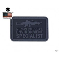 PVC 3D Emerson 'M249' Preto
