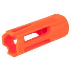 Tapa Chamas Plástico Vermelho