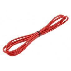 Cabo de Silicone 18AWG 1m (vermelho)