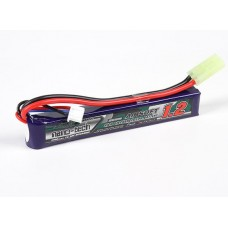 LIPO Turnigy 1200mAh, 7.4V, 25~50C, (small)