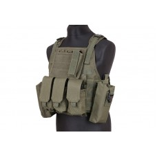 Colete tipo Plate Carrier OD