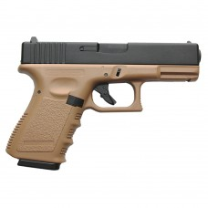 Glock 23 METAL 2 tons TAN