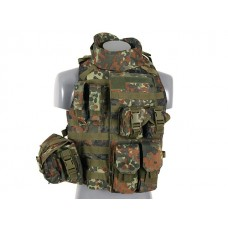 Colete Interceptor Flecktarn
