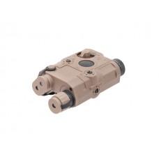 AN/PEQ 15 TAN C/ Lanterna e Laser