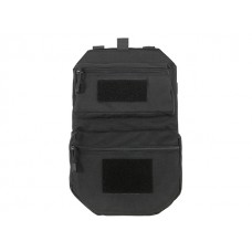 Painel 'Assault' Traseiro MOLLE Preto