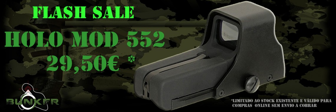 Mira Holografica tipo Eotech 552.